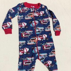 New - Baby Boy Long Sleeve Cotton 1-Piece PJ